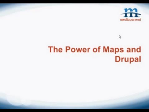 Webinar: The Power of Maps and Drupal