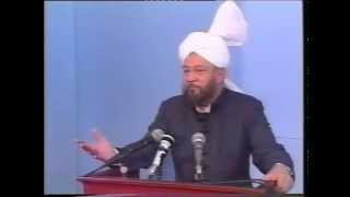 Friday Sermon 4 October 1991
