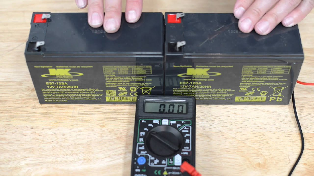 2014 Charger Wiring Diagram Testing Battery Voltage For Driveway Gate Openers Youtube