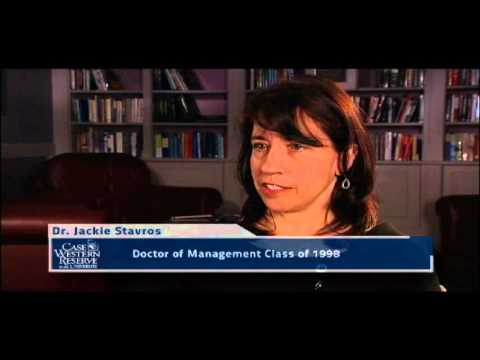 Jackie Stavros on the Doctor of Management Program at Weatherhead School of Management