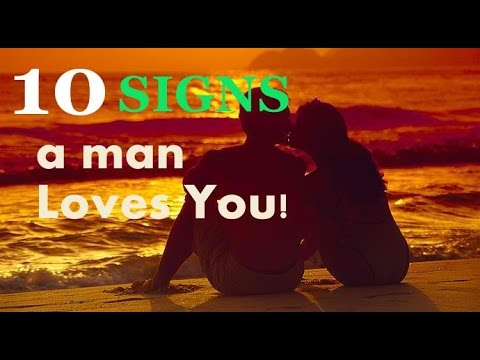signs a man is falling for you