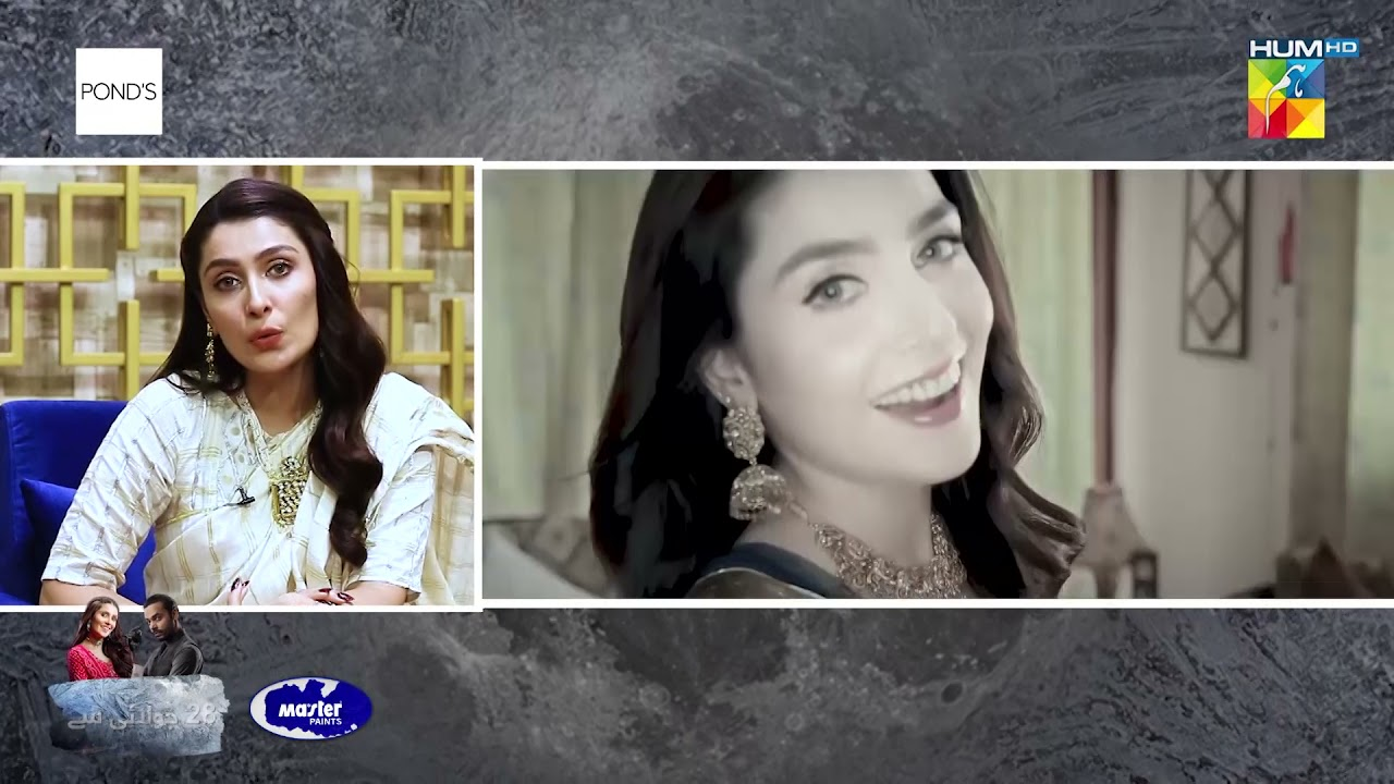 Ayeza Khan   Interview   Laapata   Presented By PONDS & Powered By Master Paints   HUM TV