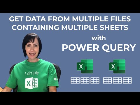 Get Multiple Files Containing Multiple Sheets with Power Query
