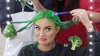 we make my hair look like broccoli