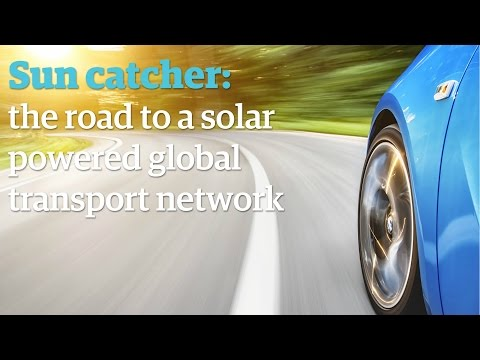 Suncatcher: the road to a solar powered global transport network
