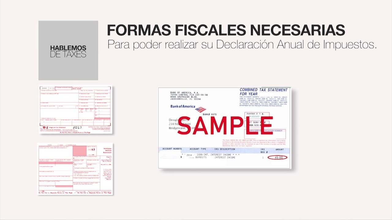 Hablemos De Taxes Prg 06 Formas Fiscales Youtube