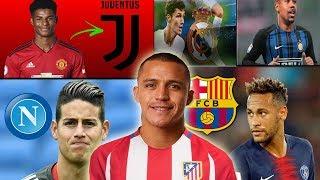 FICHAJES INVIERNO 2019 rumores | Neymar PIDE VOLVER AL BARCELONA, Alexis Sanchez, Rashford y más!