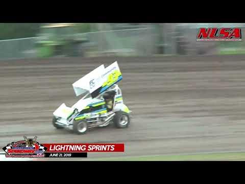 06/21/19 NLSA Lightning Sprints - River Cities Speedway