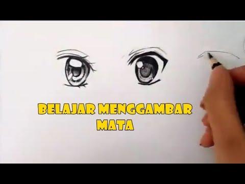 Cara Mudah Belajar Menggambar  Mata Langkah demi langkah