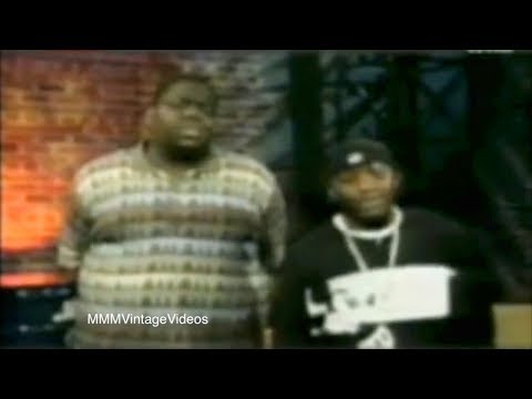 The Notorious B.I.G. sneak disses Tupac on TV! Rare Interview