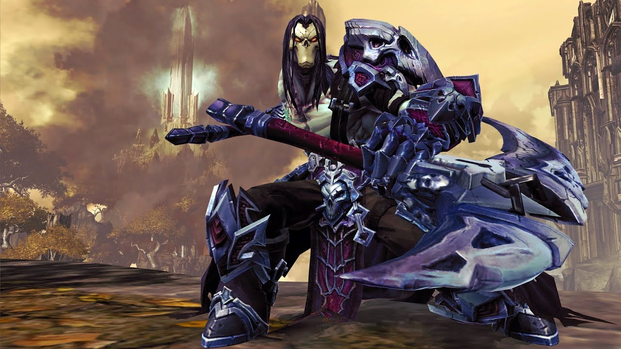 DLC Episode 3 - Darksiders II: The Crow Armor - YouTube