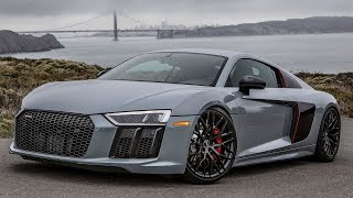 WOW! 660HP REAR WHEEL DRIVE 2018 AUDI R8 - Mad car, mad sound and mad fun! - 1of999 and TUNED