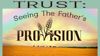Trust: Seeing The Father's Provision