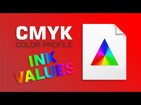 CMYK Color Separation | CMYK Ink Color Profile Settings Part 2 Of 2