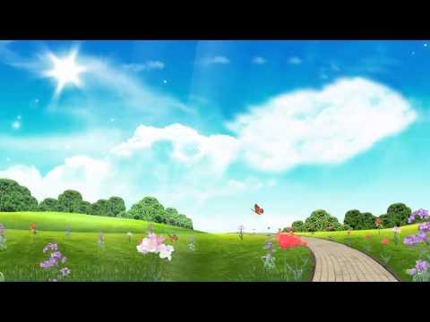 Lovely Landscape + Sound Happy Spring by desktopanimated.com
