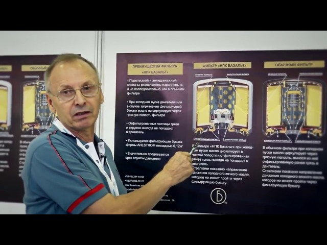 Преимущества инновационного масляного фильтра Базальт