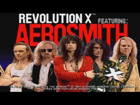 Revolution X Featuring Aerosmith - Arcade 1994 - Full Playthrough