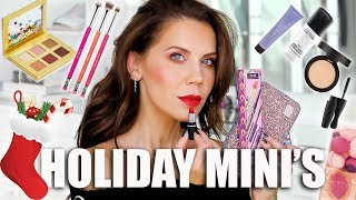 FULL FACE of STOCKING STUFFER MAKEUP-MINI