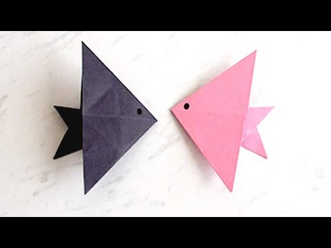 How to Make Paper Fish | Creating Paper Fish, Paper Art and Craft for Kids