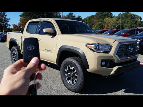 2016 Toyota Tacoma Trd Off Road Start Up Exhaust And Review