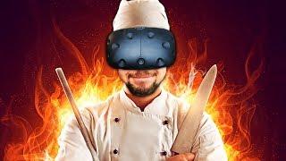 samurai chef   counter fight htc vive virtual reality