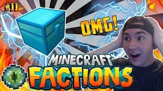 CRAZY OP ENVOY LOOT!! | Minecraft: COSMIC FACTIONS VERSUS #11