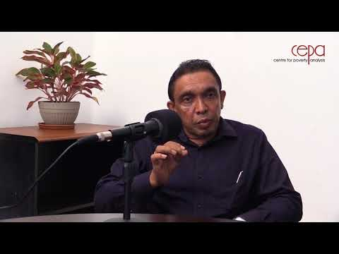 Prof. Sirimal Abeyratne  on Poverty and Inequality  in Sri Lanka