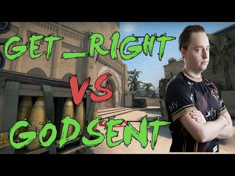 CSGO: POV NiP GeT_RiGhT vs GODSENT (28/18) mirage @ DreamHack Masters Malmö 2016