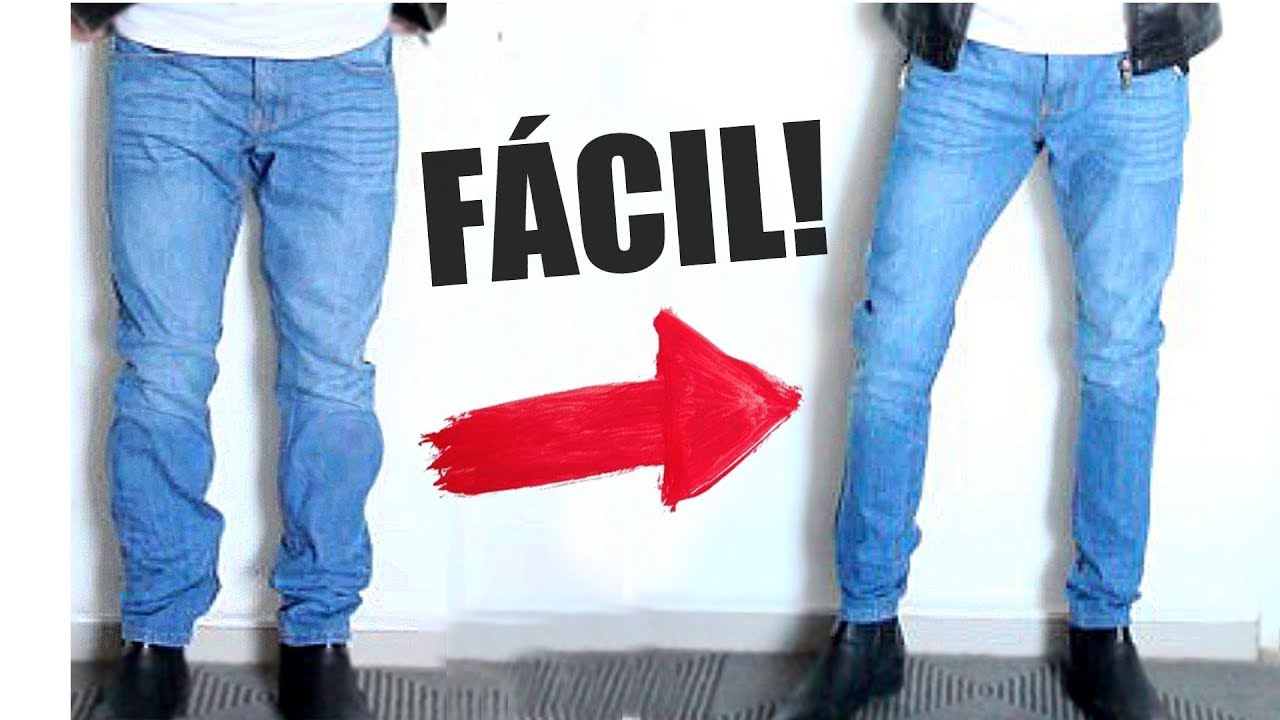 Como Reducir Un Pantalon Que Te Queda Grande Youtube