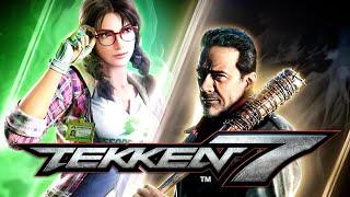 Tekken 7 - Julia & Negan Official Gameplay and Date Reveal Trailer