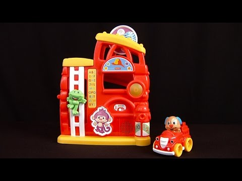 Laugh & Learn Monkey's Smart Stages Firehouse From Fisher-Price