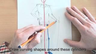 15 Min Portrait - Leaving Cert Art Life Drawing Exam 2014 Ireland