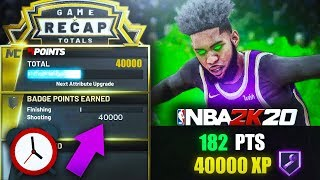 *NEW* Fastest way to UNLOCK ALL of your Shooting Badges in 1 DAY on NBA 2K20