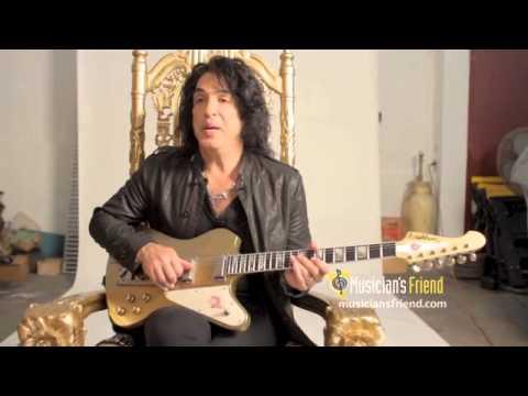 Paul Stanley Introduces New Washburn PS12 - EXTENDED