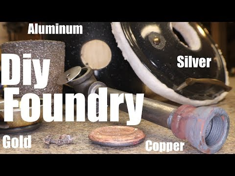 Diy Metal Melting Foundry!