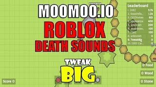 MooMoo.io Deaths w/ Roblox Death Sounds