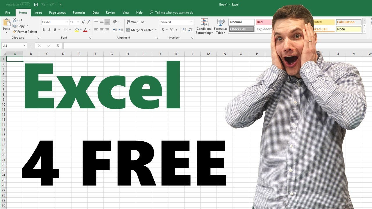 How to get Microsoft Excel for FREE!!!