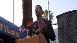 Sen. Ron Gould at AZ Capitol Tea Party