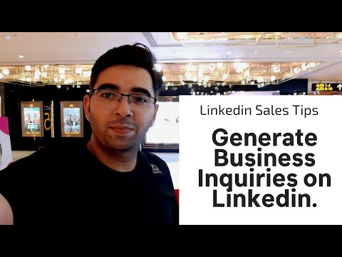 How to Generate Business leads on Linkedin | Linkedin Sales Tips