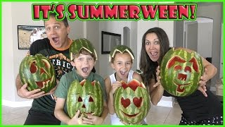 You have to watch our fun filled watermelon carving challenge! See ...