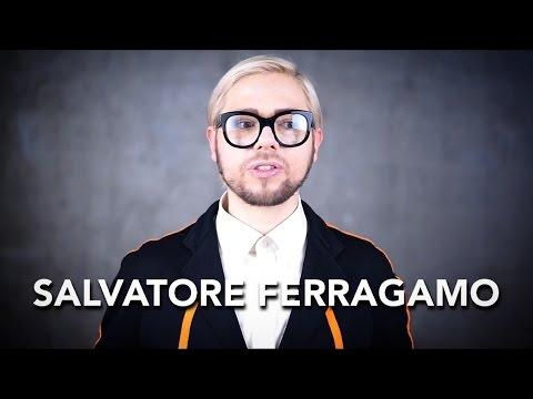 How to pronounce SALVATORE FERRAGAMO