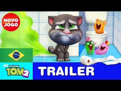 Amigo até no Banheiro - Meu Talking Tom 2 - Trailer Oficial 3