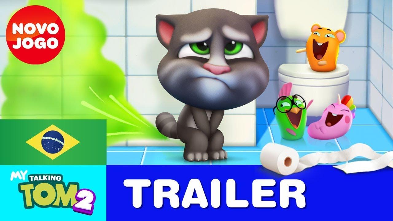 Amigo Ate No Banheiro Meu Talking Tom 2 Trailer Oficial 3