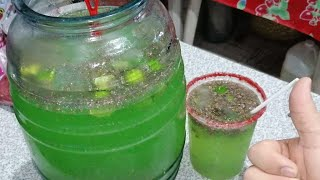 Agua de limón con Chía especial para negocio paleteria y aguas frescas