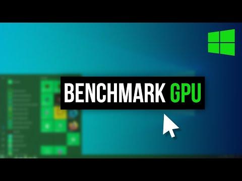 How To Benchmark Your GPU On Windows 10