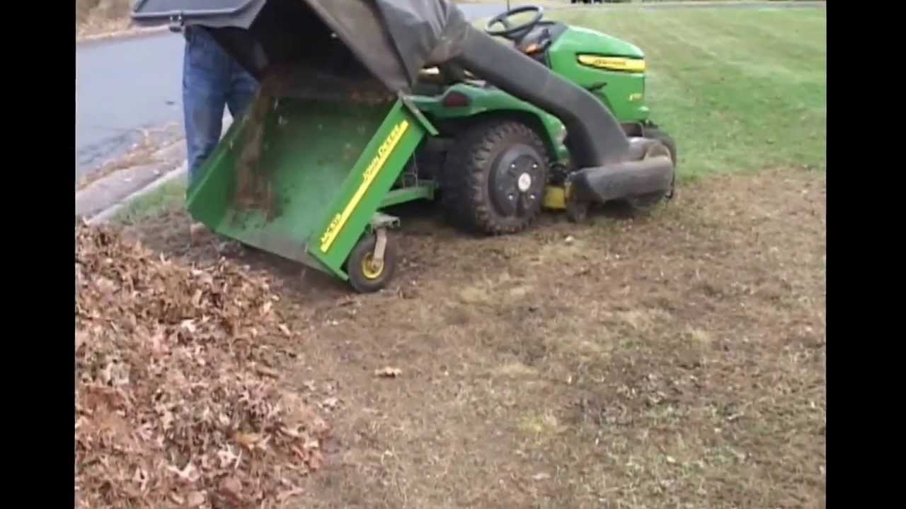 small resolution of john deere x530 with powerflow and mc519 cart