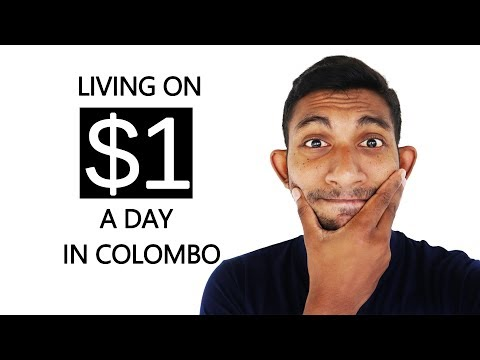 I tried living on $1 a day in Colombo