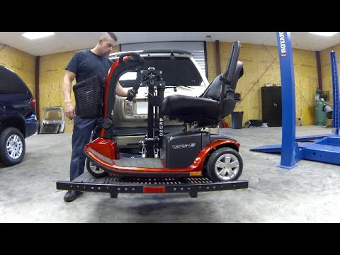 Bruno ASL-250 Mobility Lift Install (Outsider)