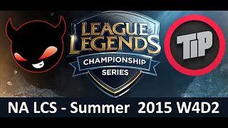 NME vs TIP NA LCS Championship series Summer Split 2015 W4D2 Enemy Esports vs Team Impulse Game High