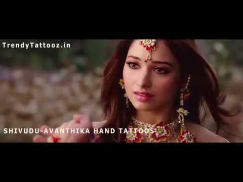 Bahubali Movie Tattoo ( Avanthika-Shivudu Tattoo) for this Valentine Day